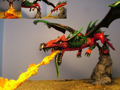 A Dragon for ArkenThell by minion-for-hire
