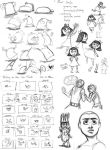 Animation sketches by stuffaeamade