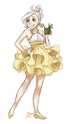 Pina colada fullbody by meago