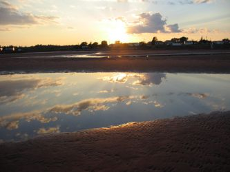 Reflection at the Beach by charris