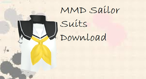 [MMD] Sailor Suits by xxShinyMarinexx