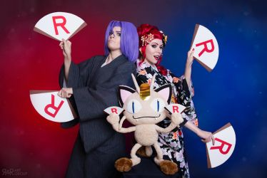 Team Rocket's Rockin'! by Ryoko-demon