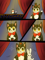 Ralph's magic-comic  by Pinkwolfly