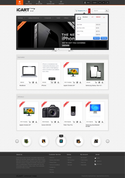 iCart Template for OpenCart 1.5 by Festus911