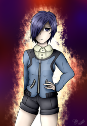 Touka by Daedric-Dragon