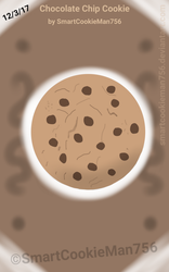 Chocolate Chip Cookie by SmartCookieMan756