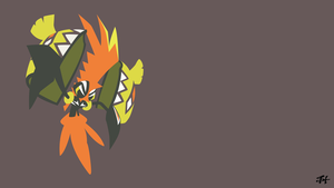 Tapu Koko (Pokemon) Minimalist Wallpaper