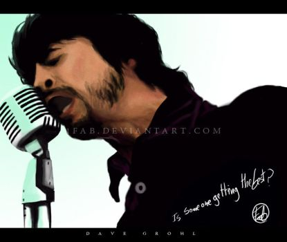 Dave Grohl by 1FAB