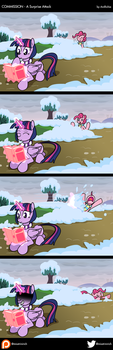 COM - A Surprise Attack (COMIC) by LadyAniDraws