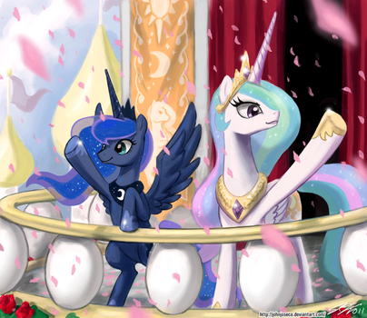 Hello Loyal Subjects by johnjoseco