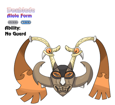 Doublade - Alola Form by locomotive111