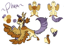 Phea's young adult ref by Cloakatta