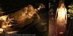decayed hanging corpse by Monstermann