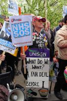 May 18th 2013 - Save the NHS: 26 by LouHartphotography