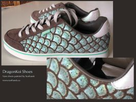 DragonKoi Shoes by sunhawk