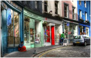 Edinburgh Street 2 by Duncansidea