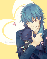 Aoba and Ren by Florbe