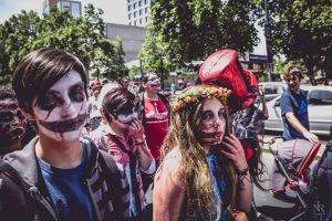 ZombieWalk 2013 Chile by Yukyh