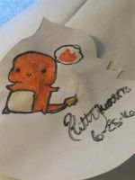 Chibi Charmander by Kittykat8873
