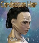 Cardassian Hair for V4 by mylochka