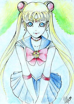 Sailor Moon FanArt by Vittachu13