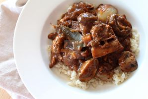 Boeuf Bourguignon by ChantalduPlessis