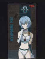 Evangelion 2015 Race Queen Rei Ayanami BoxArt by Mr123GOKU123