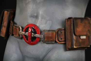 Deadpool Cosplay Buckle by TheIronRing