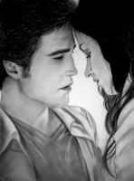 Edward and Bella by rozicullen