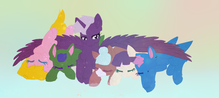 Tired Ones by WarriorLover1801