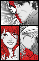 The Parker Love Triangle by muzbymm