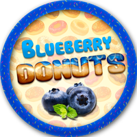 Blueberry Donuts by Echilon