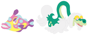 Bruxish and Drampa Base