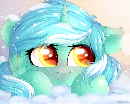 Lyra in the snow by mitralexa
