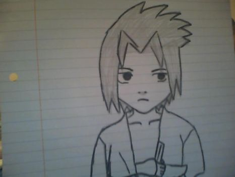 Sasuke chibi by The-Misfit-ers
