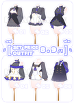 [SET PRICE|OPEN-4/6]OUTFIT BATCH! by krianart
