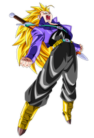 SSJ3 Future Trunks by BoScha196