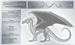 Wings of Fire Fanwing - SwordWing Ref [CLOSED] by xTheDragonRebornx