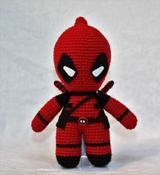 Deadpool - Front View by DocA74