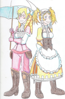 Lissa and Maribelle - 001 by LeafGreen1924