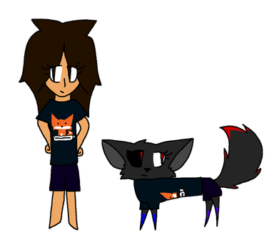 16 with IRL me and Animal by Wolfia808