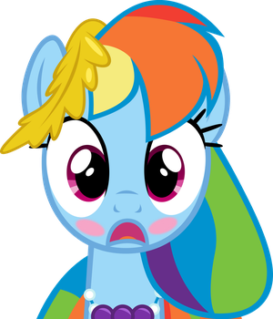 Rainbow Dash - She's Been Left Speechless by Firestorm-CAN