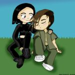 Another Ulrich and Yumi moment by Yumi-x-Ulrich-Club