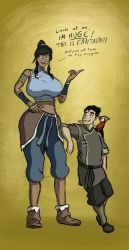 Korra the 12 foot Avatar [old pic] by caiman2