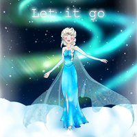Elsa - Let it Go by Monochrome-Melody