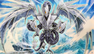 Trishula, Dragon of the Ice Barrier by SlackerMagician