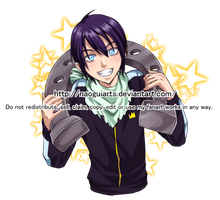 Lucky Yato by naoguiarts