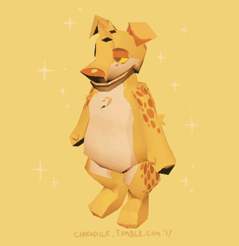 [3D] Low Poly Dog by CH0C0DILE