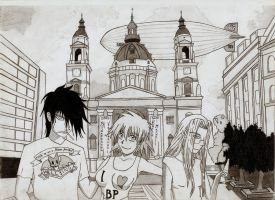Hellsing in Budapest by Nymius91