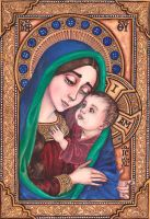 Our Lady of Good Counsel by Theophilia